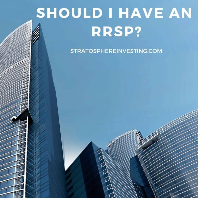 Should I have an RRSP Tax Canadians