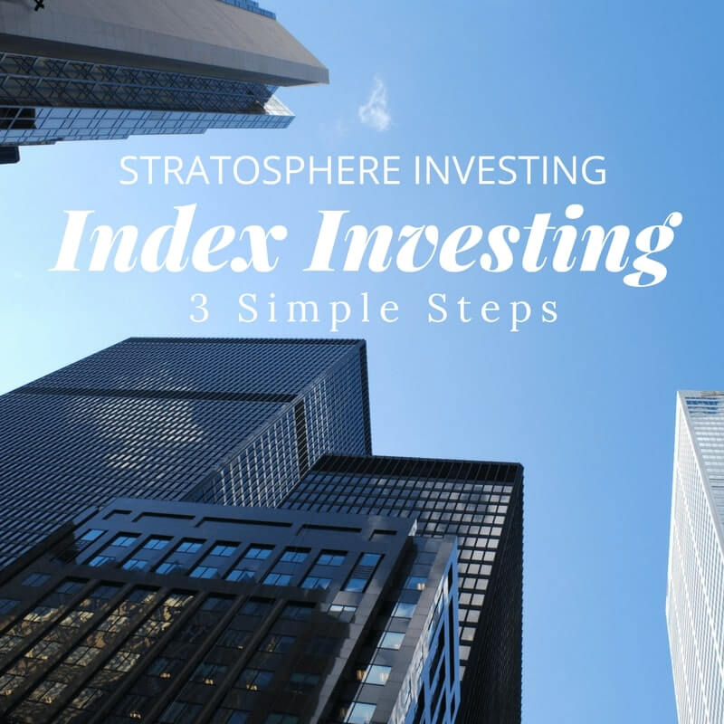 index Investing in 3 simple steps for Canadians.
