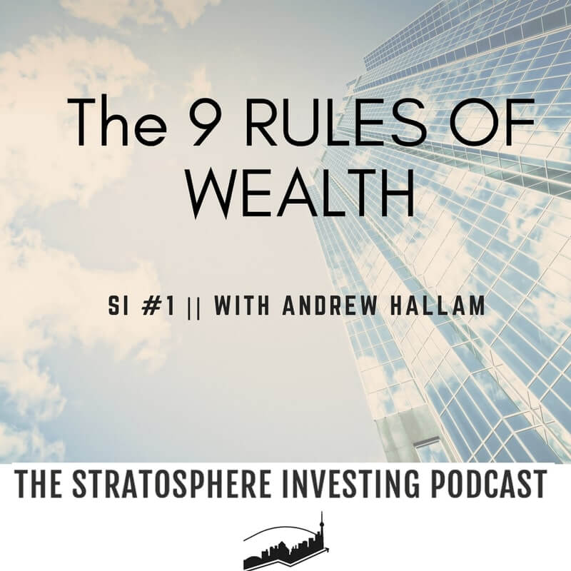 The 9 rules of wealth book from Andrew Hallam