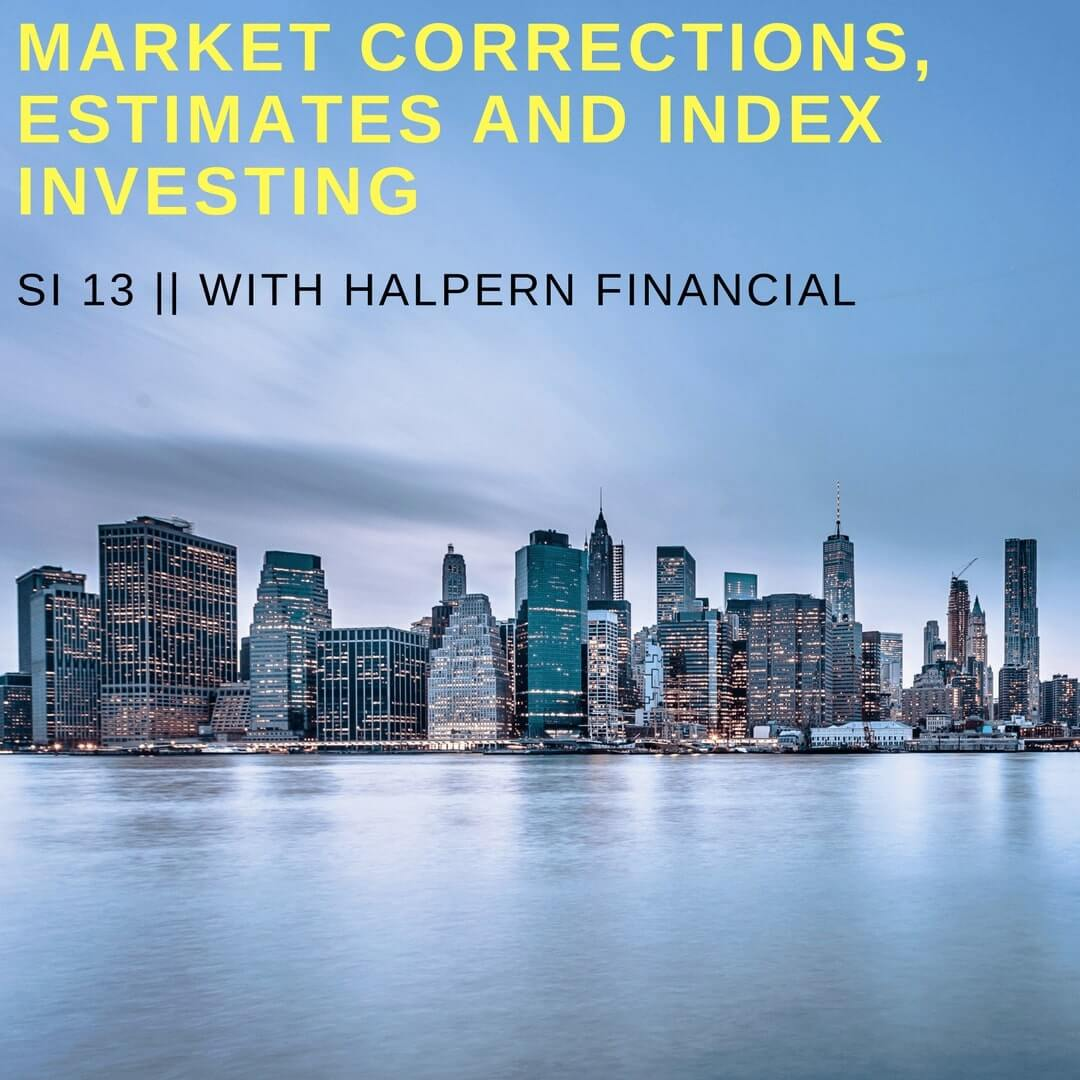market corrections and index investing podcast
