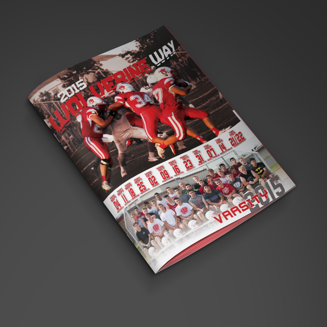 WHS Football Program 2015 - Cover