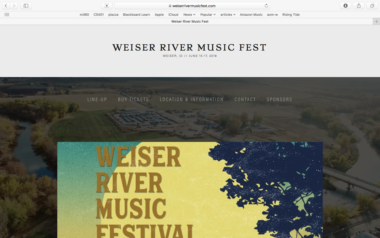 WRMF WEBSITE MANAGEMENT - Squarespace Design