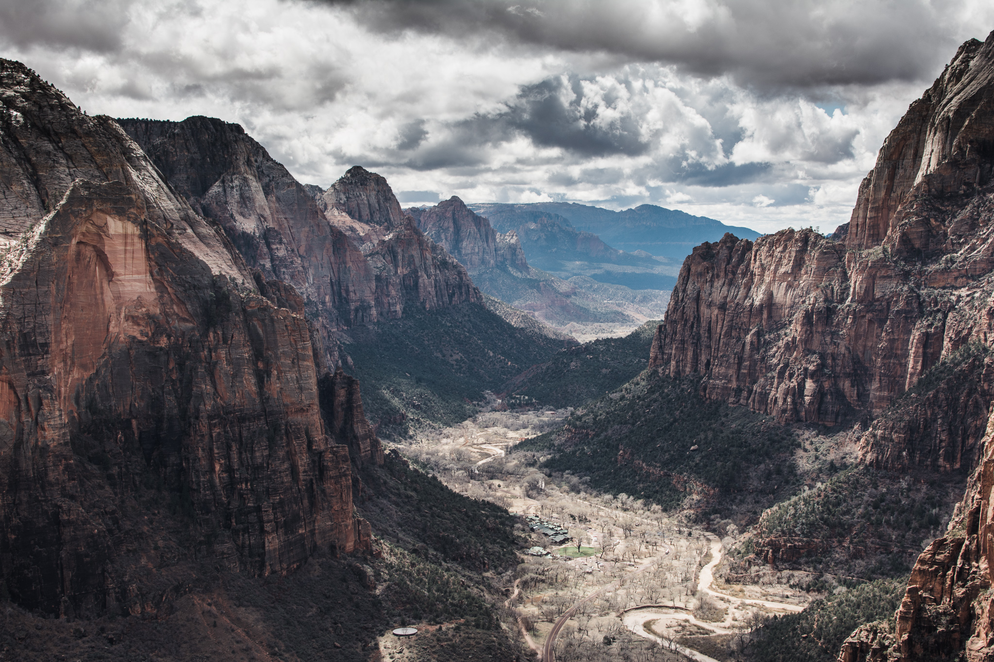 The view from the top of Angel's Landing is pretty neat.