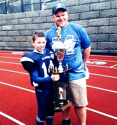 CAMERON BROSNIHAN , from Massachusetts, is one of the youngest athletes to tear his ACL. He tore his ACL at the age of 9 playing football, and then made a successful comeback, leading his team to win the Eastern Championship!