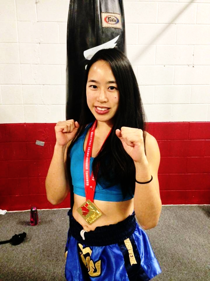 MELISSA CHAN  is a finance professional who also loves Muay Thai. Before tearing her ACL, she competed as an amateur. Her knee has now recovered and she is excited to get back into the sport.