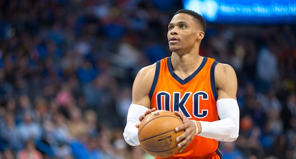 RUSS WESTBROOK, OKLAHOMA CITY THUNDER