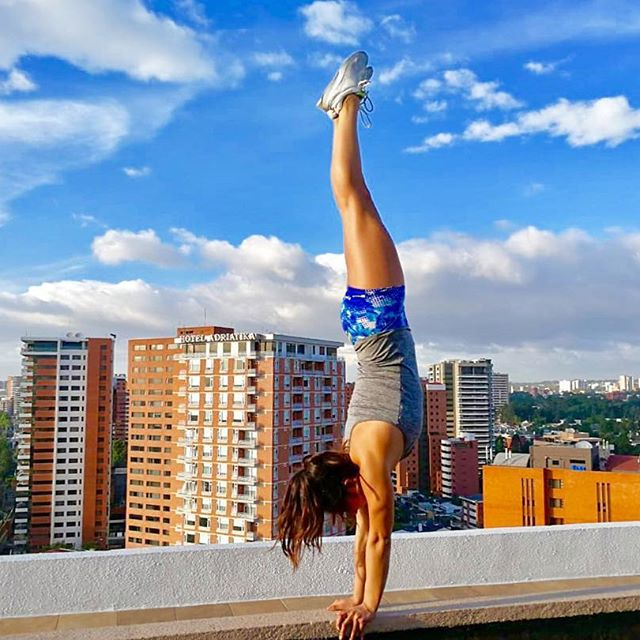 JULIANNA BALSELLS  , 22-years old, spent 10 years as a competitive gymnast before retiring at the age of 15. She was involved in a variety of sports including track and field, soccer, basketball, softball, and played as an outside hitter in the Guatemalan volleyball team for 3 years. Later on, she found her love for calisthenics and functional training.