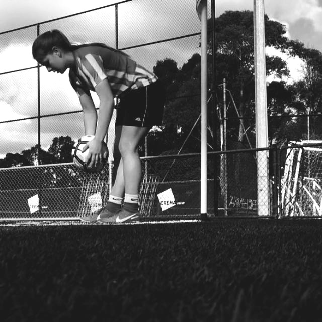 CLARECE STRUDWICK  is a 19-year old athlete who has been playing football since the age of three. She grew up on a farm in Australia: 100km (one hour) from the closest town and 600km from Brisbane. She is grateful for her amazing parents who, from the time she was 10, drove on average 2,500km each week so that she could attend training and games. During her career, she has played for both her State and the Australian All-Stars team. After finishing high-school in 2017 she moved 1,500 km interstate on her own to pursue her studies and football.