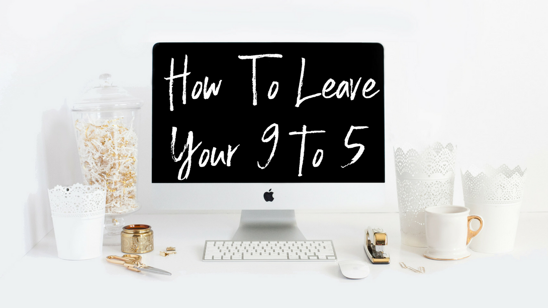 "How To Leave Your 9 to 5! - You don't have to waste time and money on ineffective strategies or being mentored by someone that has never had a 9 to 5 job.  To learn how to integrate simple steps so you can feel confident in you life AND your business, enroll in my free online course, ""How To Leave Your 9 to 5, Replace Your Income and Create An Online Business You LOVE!"""