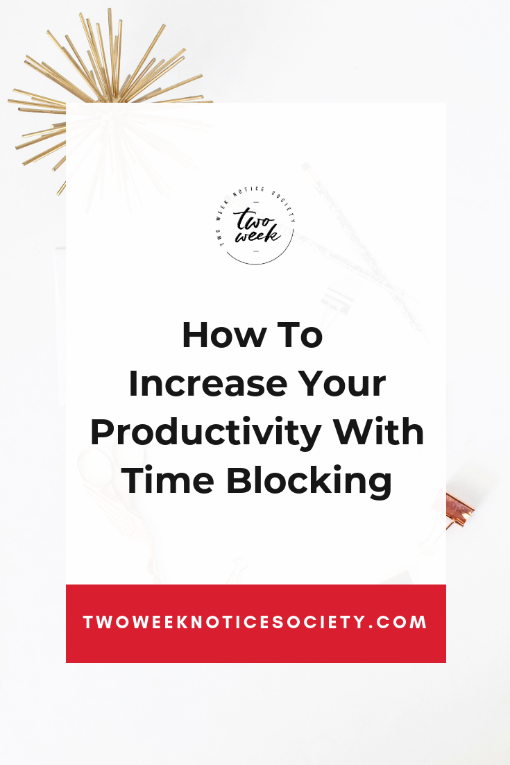 How To Increase Your Productivity With Time Blocking Join my free training on how to take your side hustle full time!! how to start your own small business, quit your job, how to quit your 9 to 5, how to start my own business, entrepreneur tips, small business start up, #workfromhome #leave9to5 #twoweeknotice #sidehustle #mompreneur #businessplan, time blocking schedule, how to time block, productivity tips,