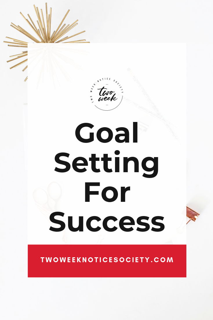 Let's talk about how to set goals for success in your life or your business. Setting goals for yourself and actually sticking to them is easier said than done. You want to accomplish your goals and be productive. how to start your own small business, quit your job, how to start my own business, entrepreneur tips, small business start up, #workfromhome #leave9to5 #twoweeknotice #sidehustle #mompreneur #businessplan