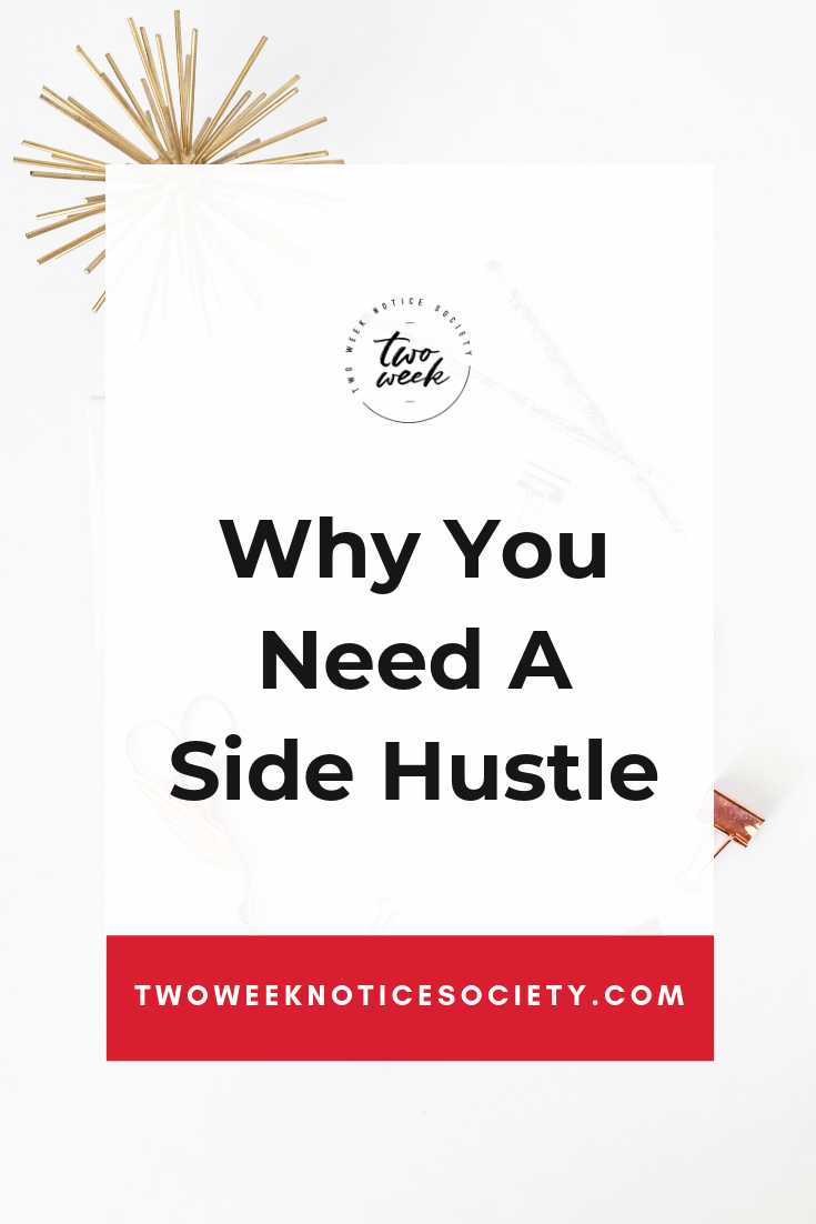 What is a side hustle, and why do you need one? Here are the reasons why I have side hustles, plus a list of side hustle ideas and the things I do to make extra money from home part time.Times are changing and many have more than one job or a side hustle. A growing percentage of millennials are going for a second job or side gig. It could be for many reasons, for the money or for getting experience in a field or just for the fun. Why You NEED a side hustle (plus how to get started!) #sidehustle #passiveincome