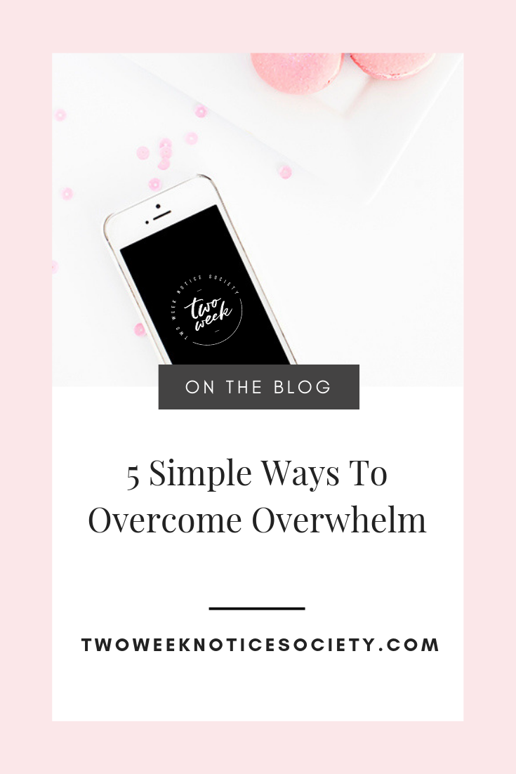 Tools and tips to help you overcome overwhelm in your business and your to-do list before it overwhelms you. It can be easy to feel overwhelmed in today's on-the-go culture, but with a little self-care, organization, and prioritization you can overcome overwhelm! #overcome #overwhelm #selfcare #organize #prioritize #destress #takecontrol #personaldevelopment #timemanagement #goals