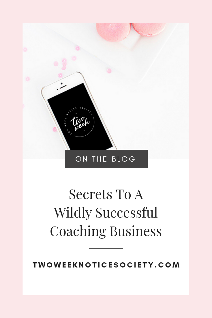 Are you a Coach or Consultant? This is a must read for a WILDLY successful coaching/consulting business. FREE guide to making money in your coaching business. Coaching business as a side hustle how to get started. START YOUR SIX-FIGURE COACHING BUSINESS WITH THESE STEPS. #businesscoach #coachingbusiness #workfromhome #leave9to5 #twoweeknotice #sidehustle #mompreneur
