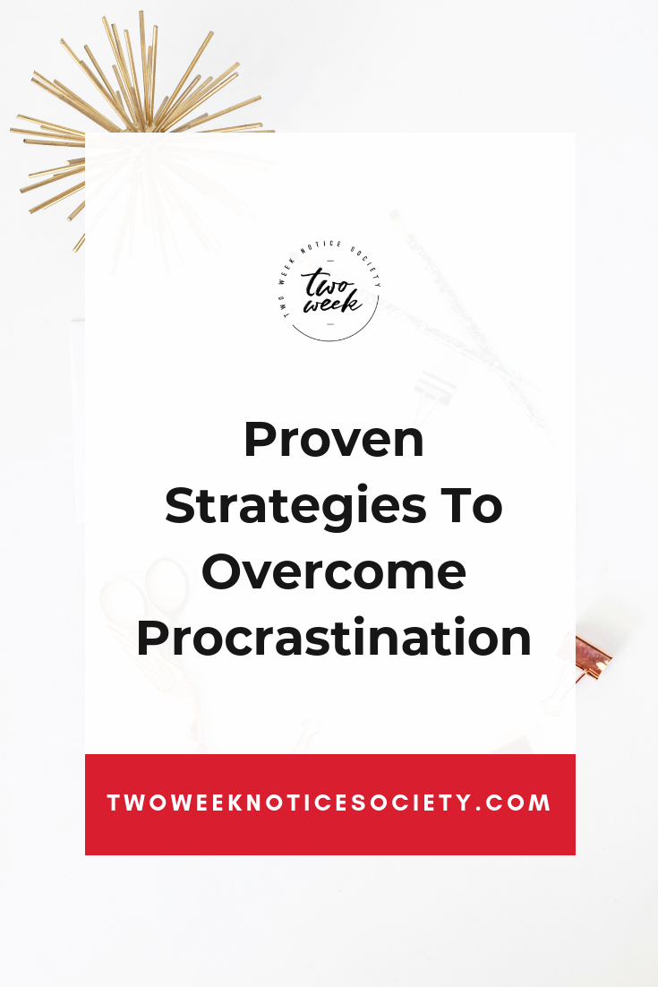How To Break Your Procrastination Habit for Good, Do you procrastinate and is procrastination stopping you from achieving your goals? Check out this simple strategy to beat procrastination by forming better habits. Learn how forming success habits helps you with overcoming procrastination. #timemanagement #productivity #planning #personaldevelopment