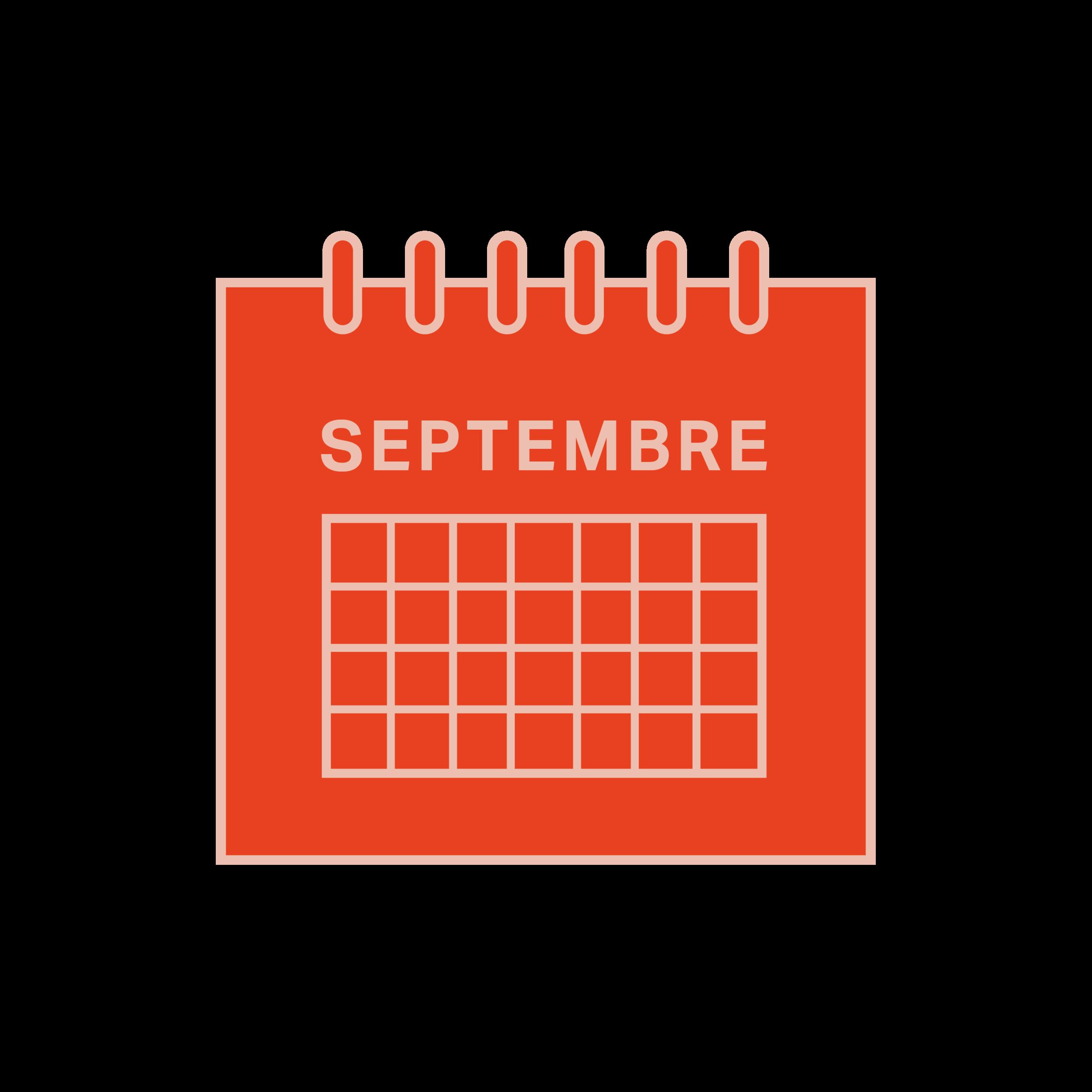 3.   Être disponible aux dates suivantes : 16, 17, 23, 24 septembre.