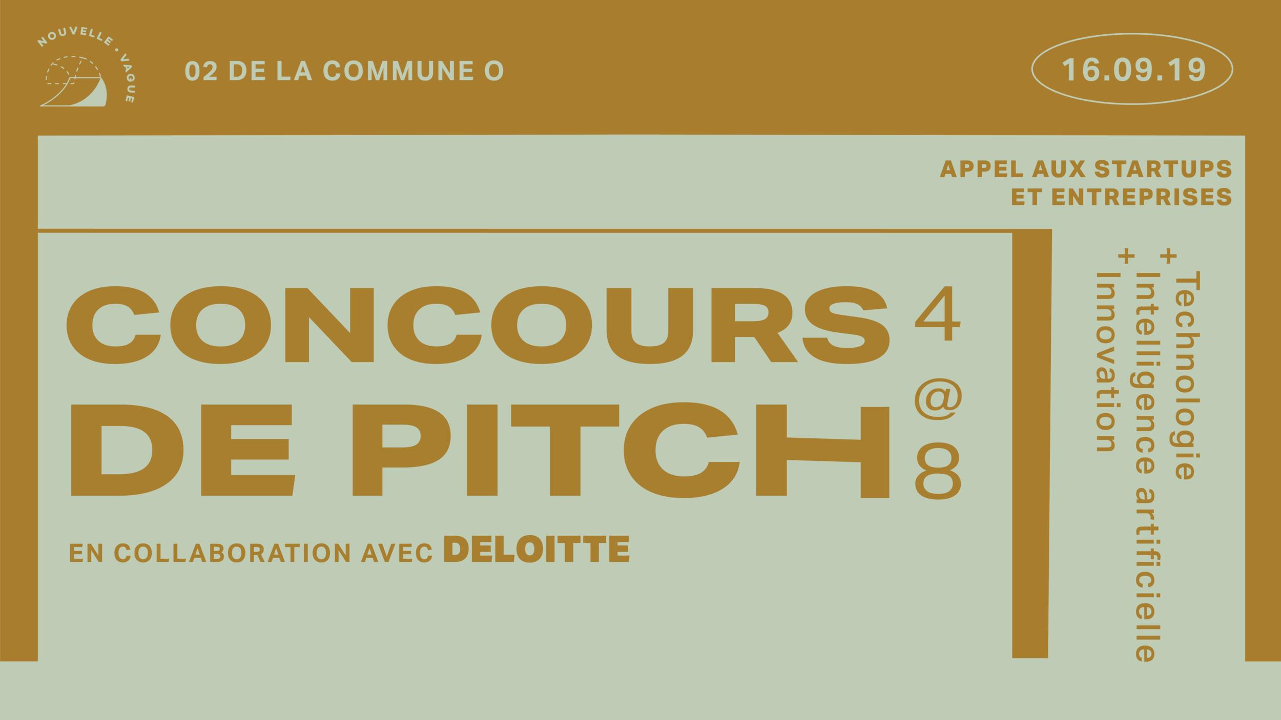 Découvrez aussi - Le concours de pitch en collaboration avec Deloitte, à Nouvelle Vague !- Technologie- Intelligence artificielle- Innovation