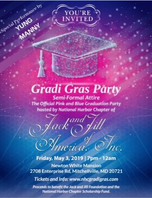 "NHC ""GRADI GRAS"" Teen Party Fundraiser - May"