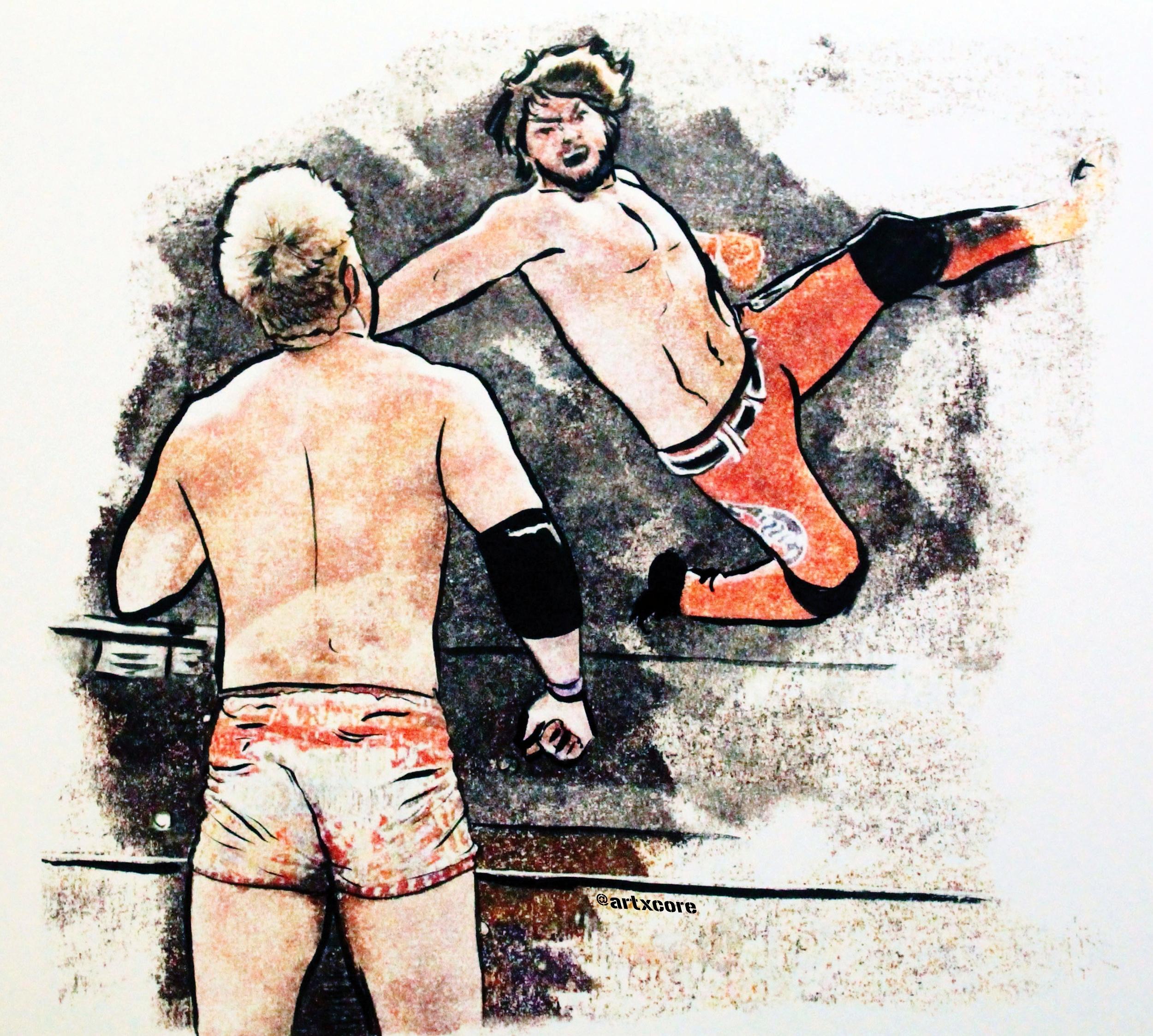 AJ vs Okada