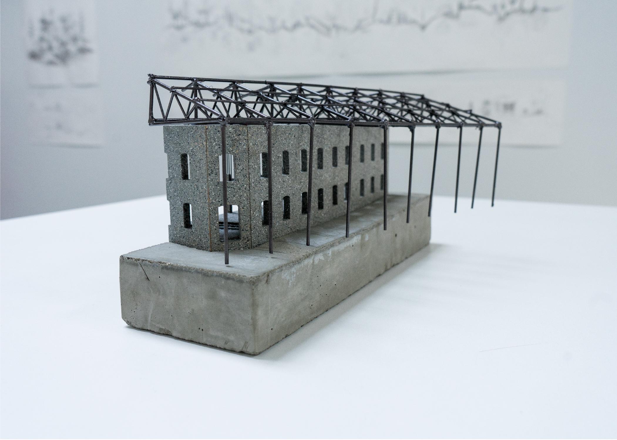 Andjela Vasic,  Transcribing the In-Between,      Building Model