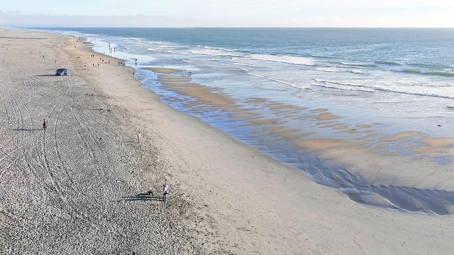 Ocean Beach Panorama
