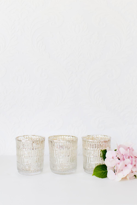 Mercury Glass Votive/Vase