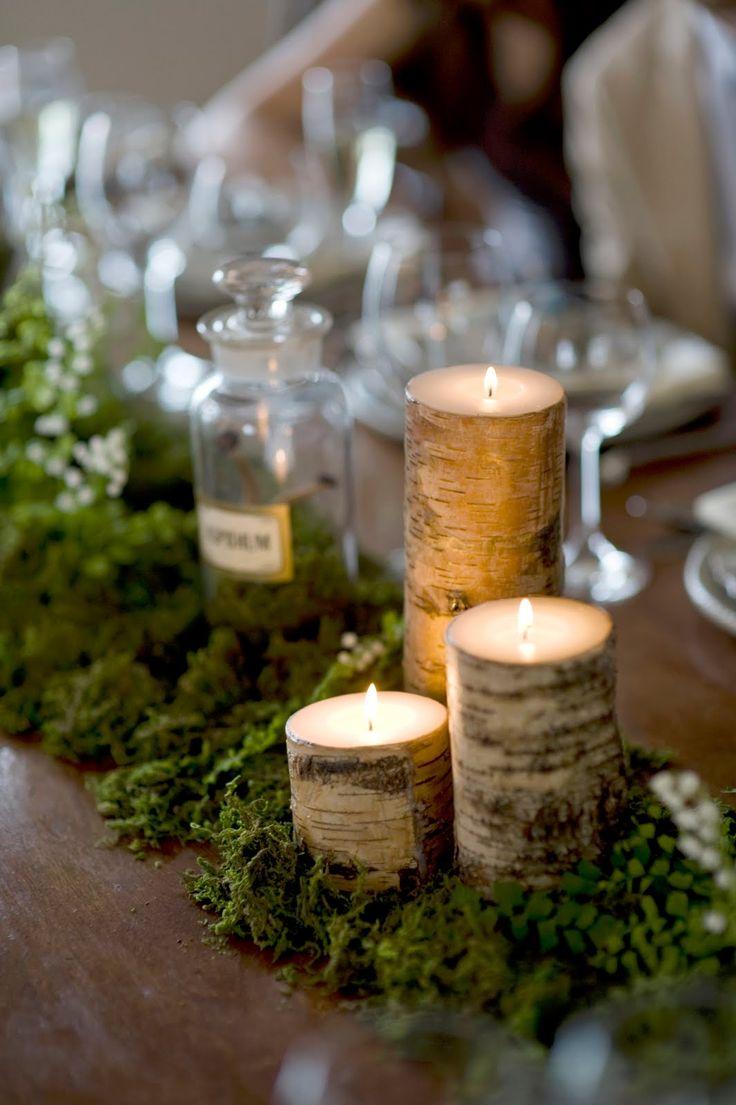 Wooden Branch Tealight