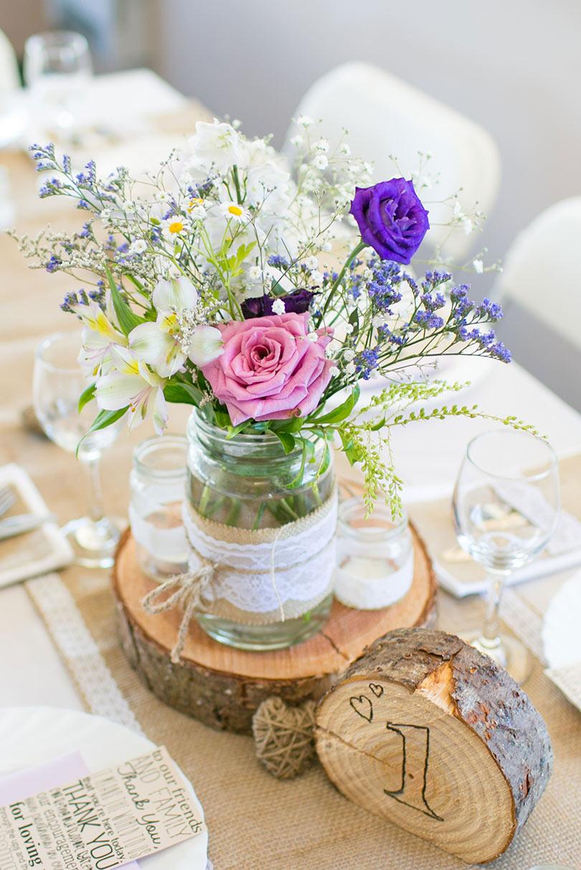 Hessian & Lace Jars