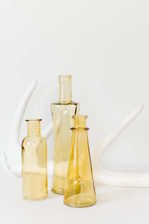 Light Amber Bottles