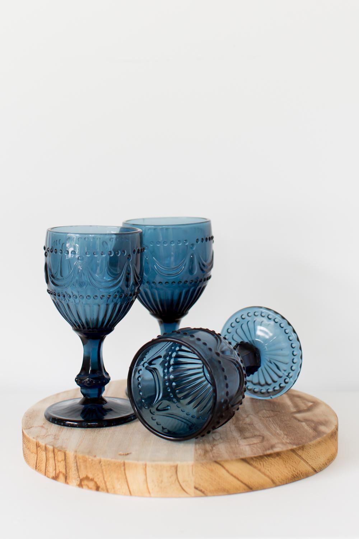 Versailles Goblets - Blue