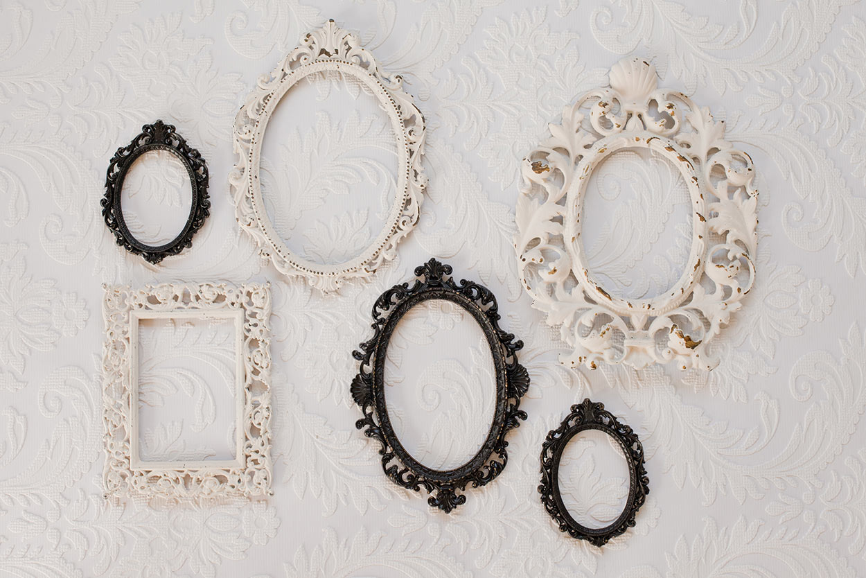 Ornate Vintage Frames