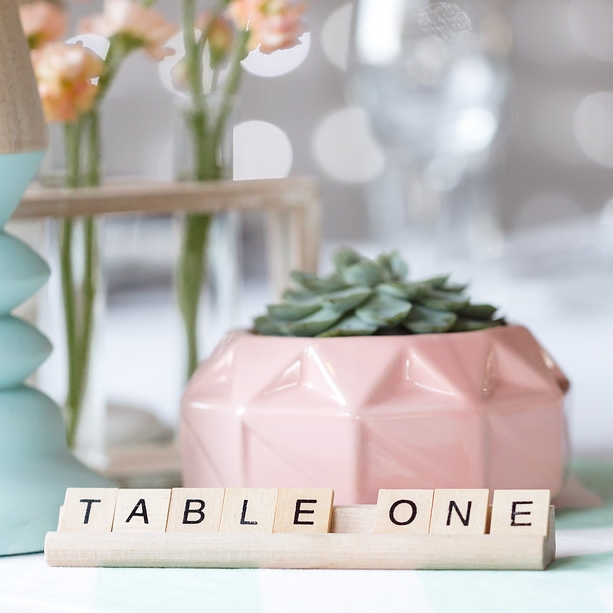 Scrabble Table Numbers