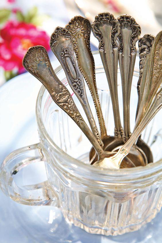 Vintage Silver Teaspoons