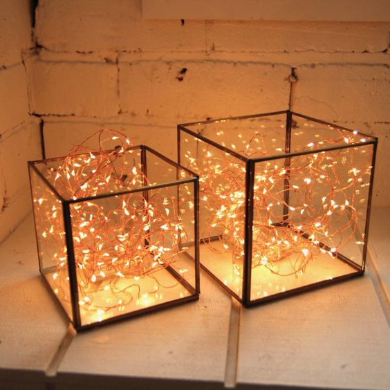 Copper Wire Seed Lights