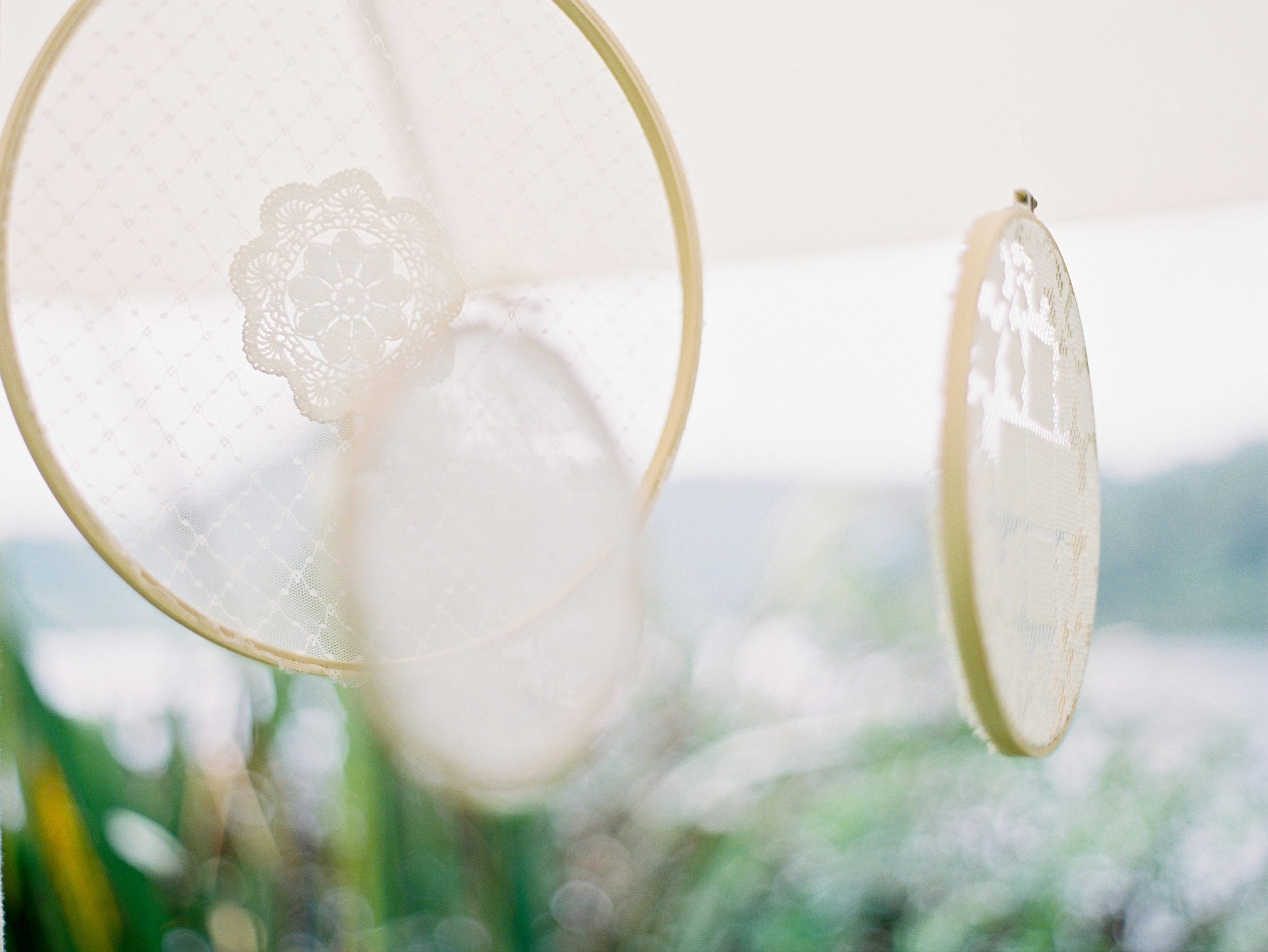 Lace Hoops