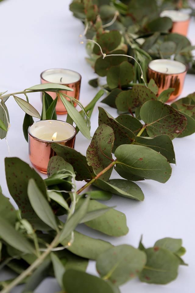 Rose Gold / Copper Tealights