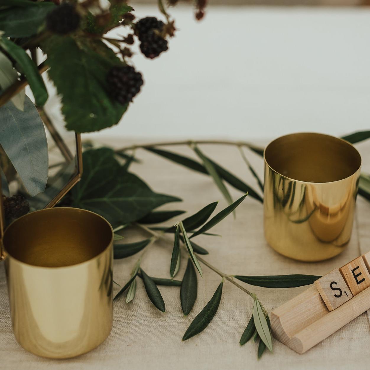 Gold/Brass Tealights