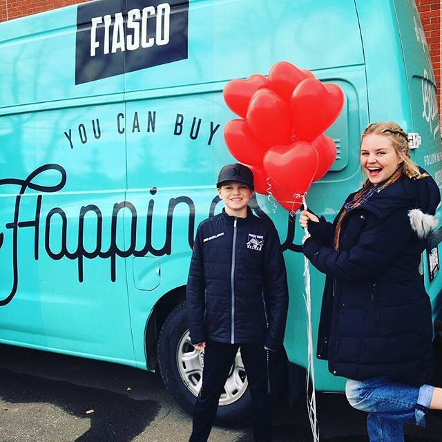 So every year, Calgary celebrates #LoveYYC Day where hundreds of businesses offer discounts and special deals to encourage exploring the city! This year we went to see how gelato is made @fiascogelato had 2for1 brunch @trolley_5 and did a @mysterytowns game in downtown! Check out visitcalgary.com/loveyyc to see this great program!  #tourismcalgary #capturecalgary #travelalberta