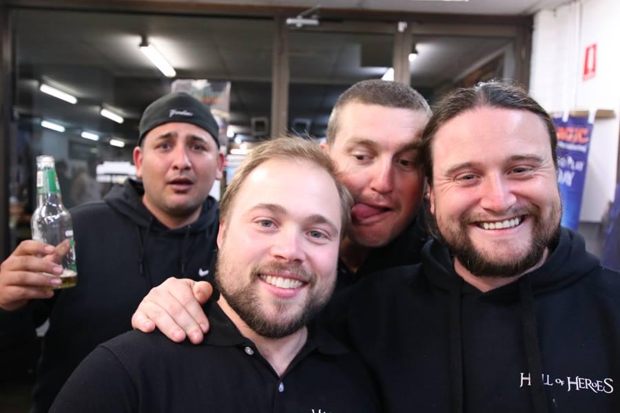 Yeah the boys!