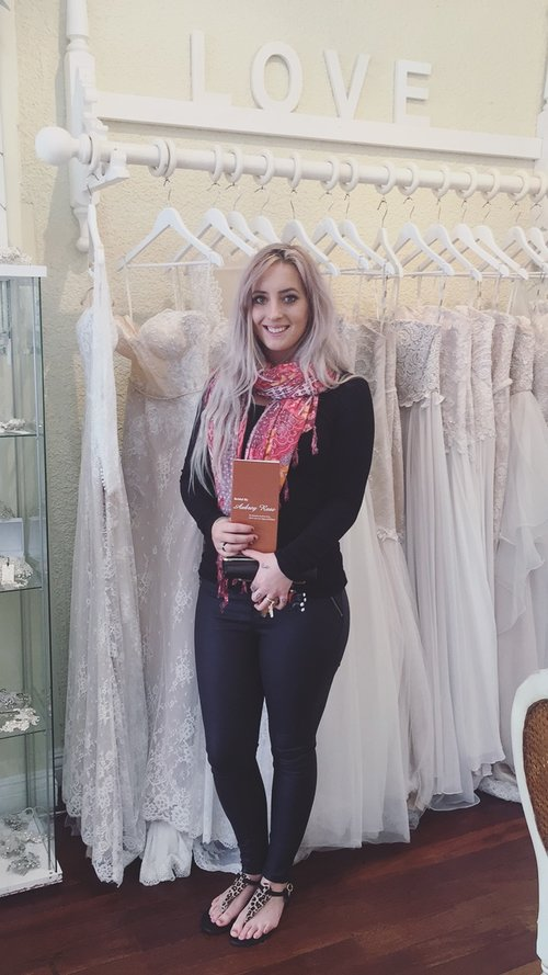 Darcy Jones - I came to this store earlier in the year with my girlfriends for my dress appointment. Immediately the wonderful ladies here made us feel so comfortable and every single dress I tried on was absolutely stunning!I came back to the store this week by myself, to re-try on 'the dress'. I was so nervous being on my own and making such a huge decision, but Rachel was amazing and helped me through the appointment.You girls are all amazing and I can't thank you enough for helping me find my dress!