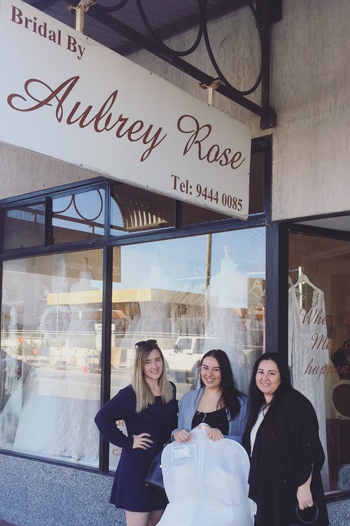 Liesa Quick - All the ladies at Aubrey Rose were just so incredibly welcoming and made me feel so at ease when choosing my dress! They really listened to what I wanted and how I felt! Not to mention they remembered me by name when I made an unexpected visit to look at the dress I eventually had chosen to be mine. I am so excited to wear my beautiful dress on my wedding day and can't thank you all enough for how special you have made me feel already!