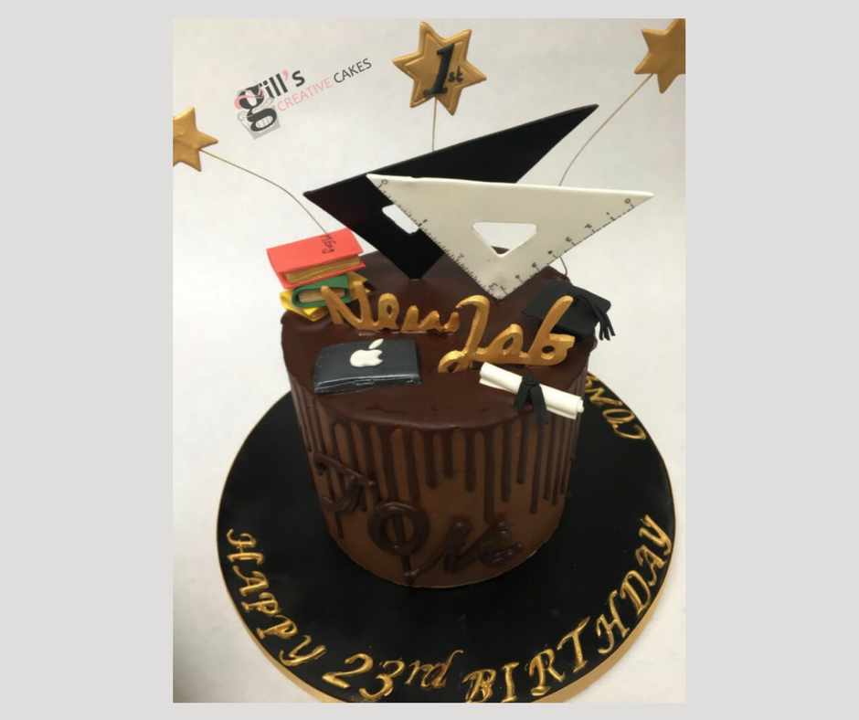 Graduation and Birthday cake .png