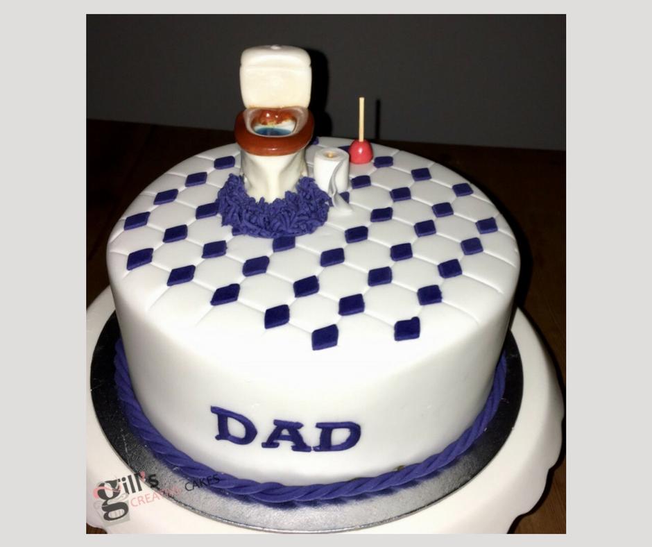 A bespoke Toilet Cake
