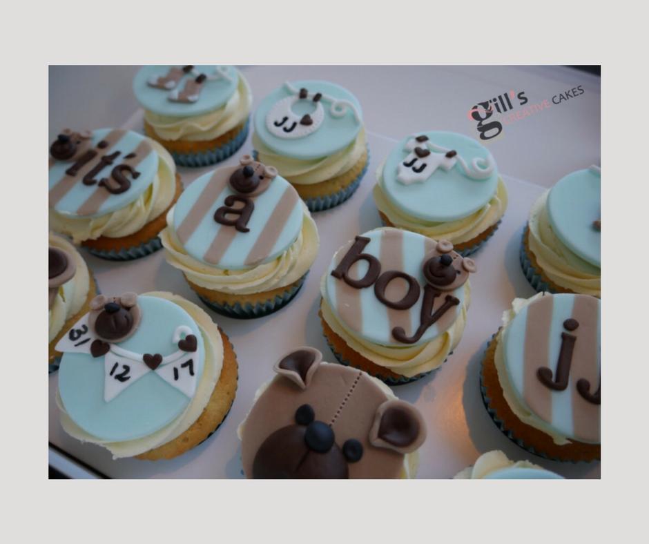 'It's a Boy' Cupcakes