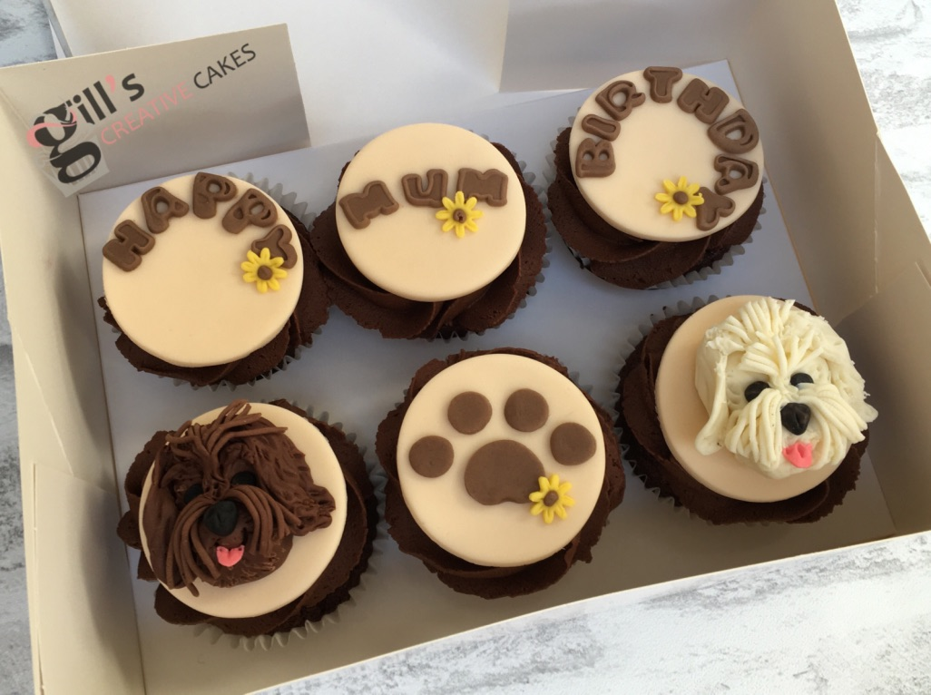Bespoke Cupcakes - Order your bespoke cupcakes today. Why not say thank you with a beautifully presented edible gift.