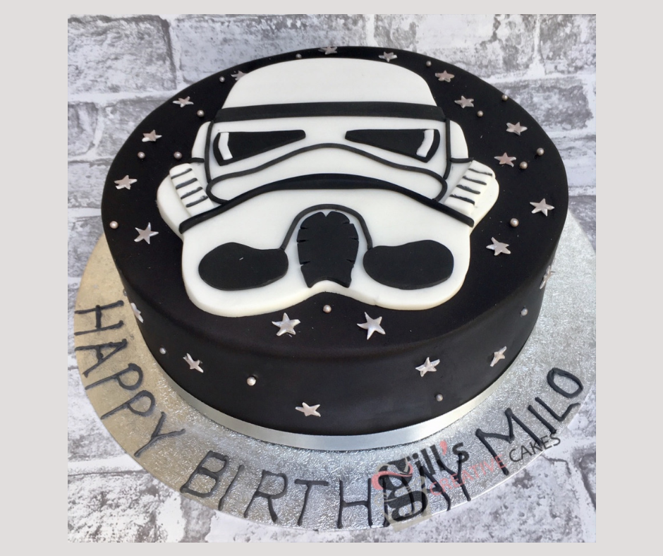 Storm Trooper Themed Cake