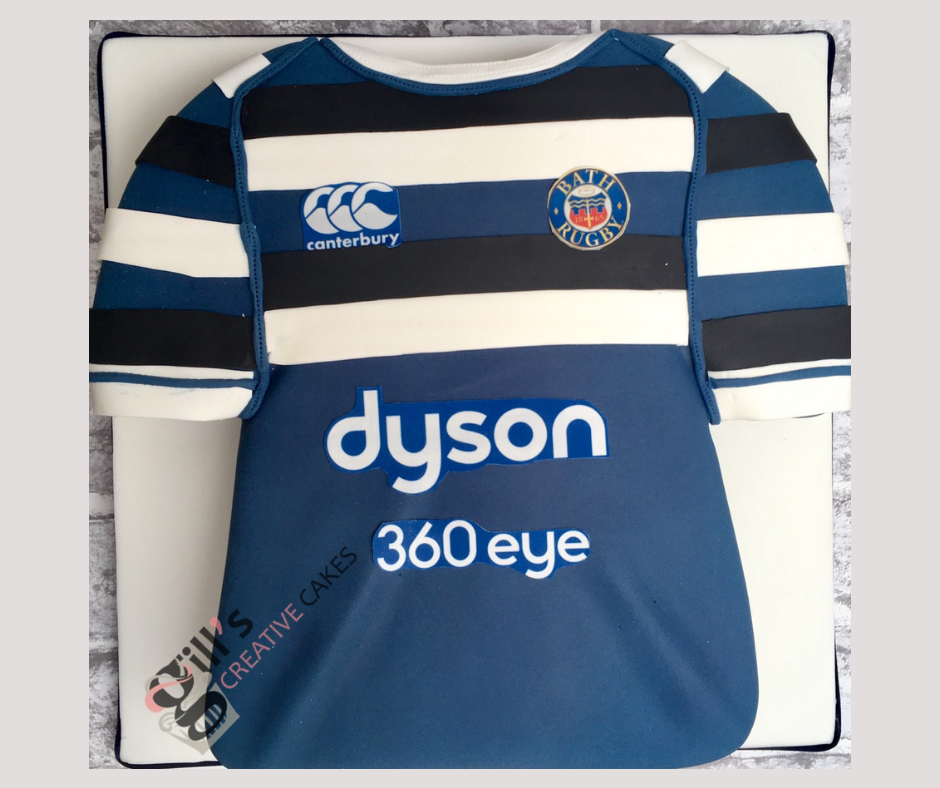 Bath Rugby Shirt Cake
