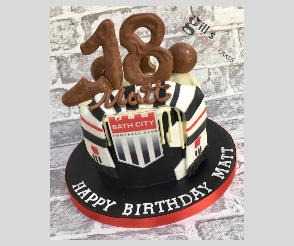 Bath City Football Club 18th Birthday Cake.png