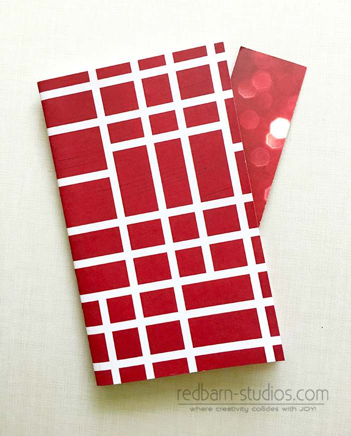 Red_Lattice Journaling Booklet