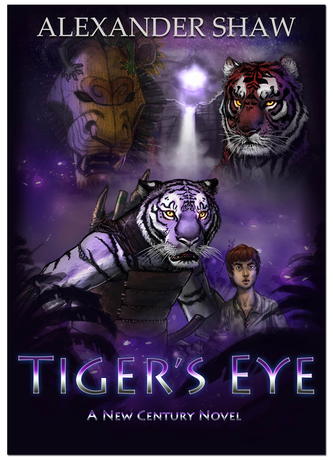 How far would you go to save your family? - Set on an alternate Earth where great cats evolved to become the dominant species, Tiger's Eye follows Hrao, a somewhat obsessive-compulsive hunter who one day discovers a human child adrift in the river. This is the story of her epic quest to get rid of him.They journey out into a land shrouded in mystery, at once ancient and new, beset on all sides by dangers both strange and personal.Hrao is going to have to let her guard down a little in order to forge the kind of companionship that might allow at least one of them to survive this perilous road.Winner of the Best Novel category of the Ursa Major Awards for anthropomorphic fiction, 2015.